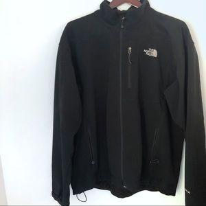 North Face Full Zip Up Black Jacket Men's TNF